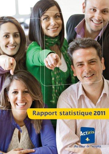 Rapport annuel 2011 - Actiris