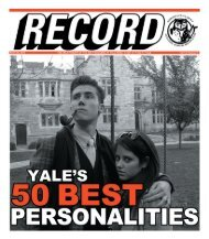 MP Book 1.indb - The Yale Record