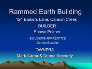 Rammed Earth Building - GraniteNet