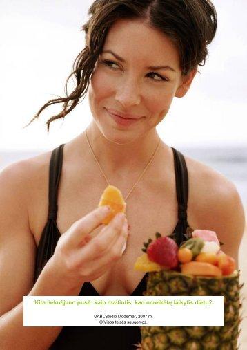 Kita lieknėjimo pusė: kaip maitintis, kad nereikėtų laikytis dietų? - Tax.lt