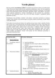 Verslo planas_turinys - Tax.lt