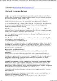 Akciju pirkimas - pardavimas.pdf - Tax.lt