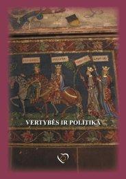 Vertybės ir politika - Laima Andrikienė
