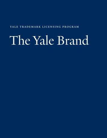 The Yale Brand - Yale University