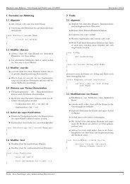 1 Formales zur Ableitung 2 Traits