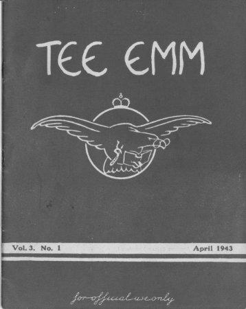 TEE EMM April 1943