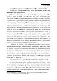 """""""Pranckevičius ir partneriai"""" parengtos teisinės ... - Baltic Law Offices"""