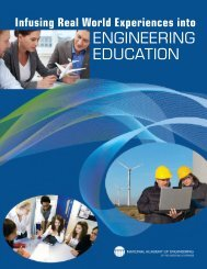 Infusing real world experiences into engineering education