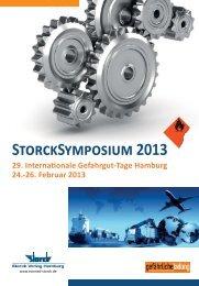 Programm der 29. Internationalen Gefahrgut-Tage Hamburg - BAM