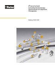 Steckverbindungen - Prestolok - Siebert Hydraulik & Pneumatik