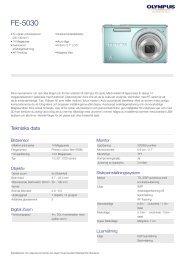 FE-5030, Olympus, Compact Cameras