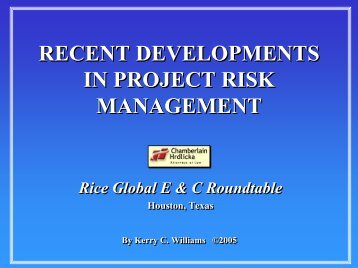 RT 090905 Williams.pdf - the Rice Global Engineering ...