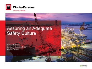 Assuring an Adequate Safety Culture - the Rice Global Engineering ...
