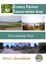 Stewardship Plan - the Town of Dennis