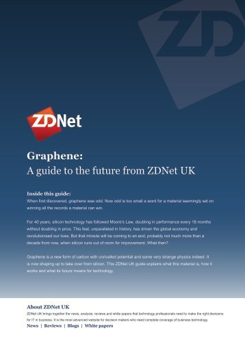 Graphene: A guide to the future from ZDNet UK - CBS Interactive UK