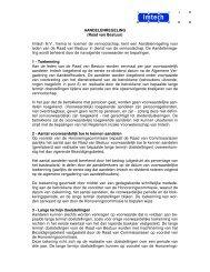AANDELENREGELING (Raad van Bestuur) Imtech N.V., hierna te ...