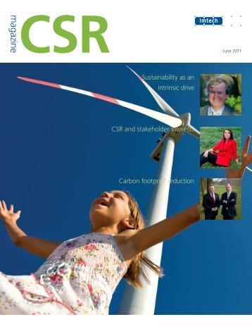 CSR magazine 2011 pdf - Imtech