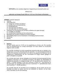 Notulen AVA 20 april 2004 - Imtech