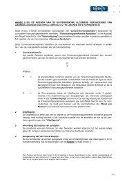 Annex II Conversievoorwaarden - Imtech