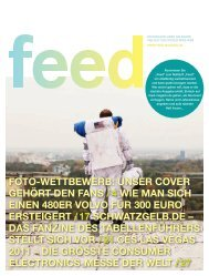 Print-Ausgabe - Feed Magazin