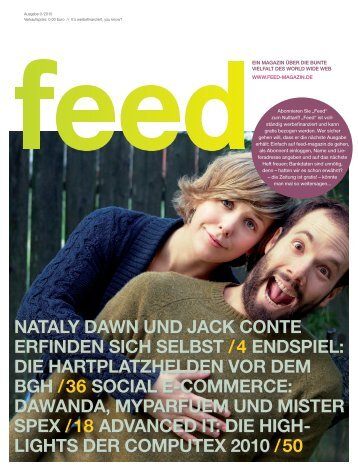 Preview-Ausgabe - Feed Magazin
