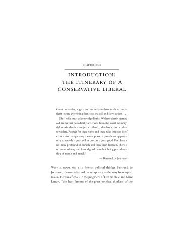 an introduction to the analysis of liberalism Liberalism and the governance of populations  to what should have been only its introduction' (317)  philosophical analysis of the key concepts of liberalism .