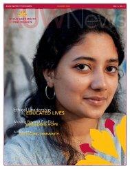 Fall 2010 - Asian University for Women