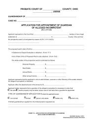 application for appointment of guardian - Supreme Court
