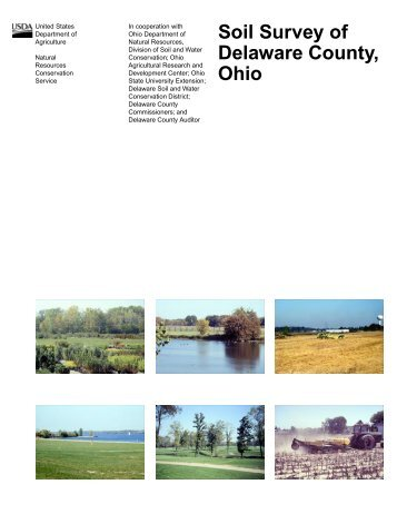Soil Survey of Delaware County, Ohio