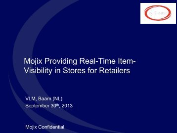 Mojix® Inc. Corporate Overview - vLm