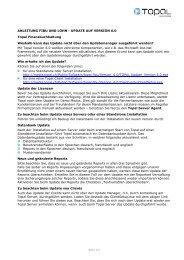Anleitung Fibu und Lohn - Topal Solutions AG