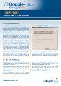 Funktionsübersicht - Delta Technology - Seite 3