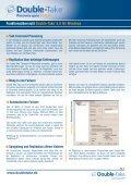 Funktionsübersicht - Delta Technology - Seite 6