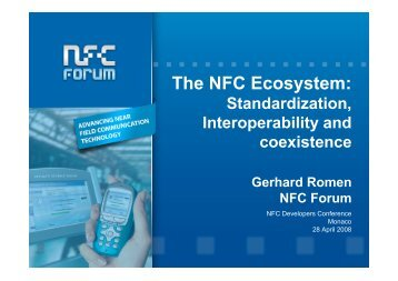 The NFC Ecosystem: - WIMA