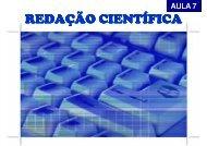 REDAÇÃO CIENTÍFICA - Carlosmello.unifei.edu.br