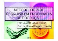 Apresentação da disciplina - Carlosmello.unifei.edu.br