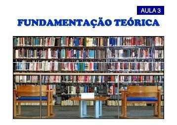 Aula 3 - Carlosmello.unifei.edu.br