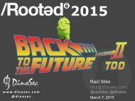Android-Back_to_the_Future_Too_Rooted2015_RaulSiles-DinoSec_v1.0