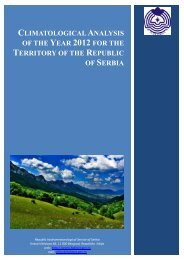 climatological analysis of the year 2012 for the territory of the ...