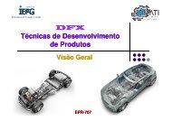 DFX Técnicas de Desenvolvimento de Produtos - Carlosmello.unifei ...