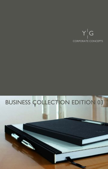 BUSINESS COLLECTION EDITION 03 - Young Generation