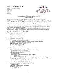 Arthroscopic Rotator Cuff Repair (Massive Tears) - Daniel J ...