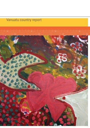 Vanuatu country report - AusAID