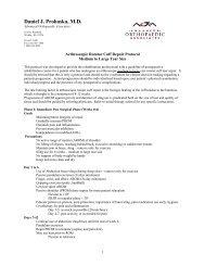 Arthroscopic Rotator Cuff Repair (Medium to Large Tears) - Daniel J ...