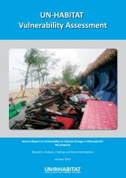 Interim Report on Vulnerability to Climate Change in Sihanoukville ...
