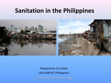 Sanitation in the Philippines