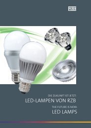 LED LAMPS LED-LAMPEn von rZB - Home