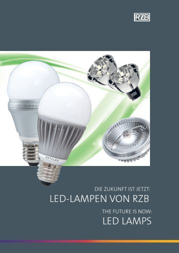 LED LAMPS LED-LAMPEn von rZB - Home