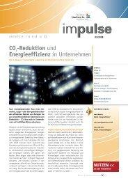 CO2-Reduktion und Energieeffizienz in Unternehmen - Hertener ...