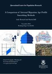 A Comparison of Internal Migration Age Profile Smoothing Methods
